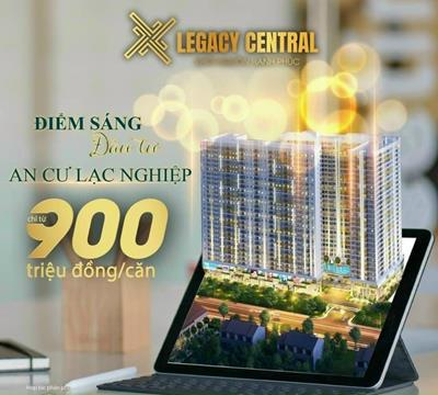 Dự Án Căn Hộ Legacy Central Kim Oanh Vẫn Bình Ổn Giá Khi Giá Thép, Vật Liệu Xây Dựng Đang Tăng Mạnh